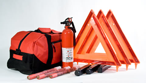 DOT Compliant Truck Kit in Duffel Bag